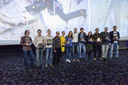 Ocenení horolezci. (foto: Vlado Kuric)